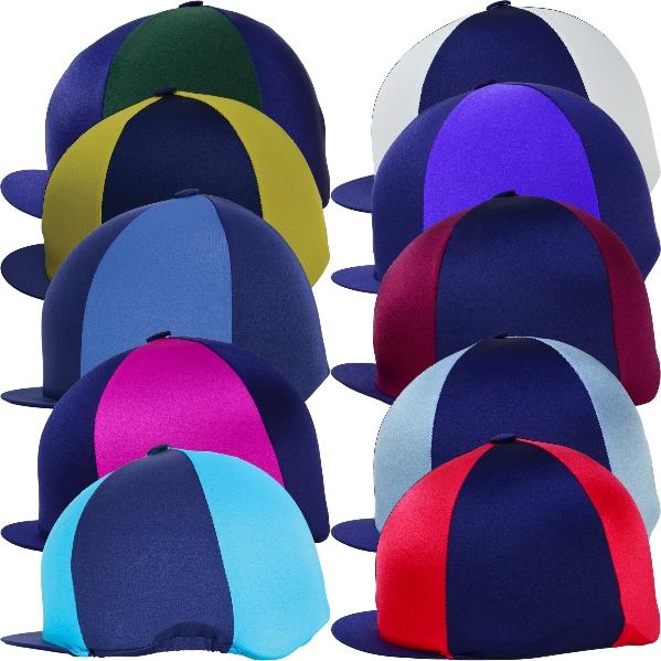 Showquest 2 Colour Lycra Hat Cap Cover