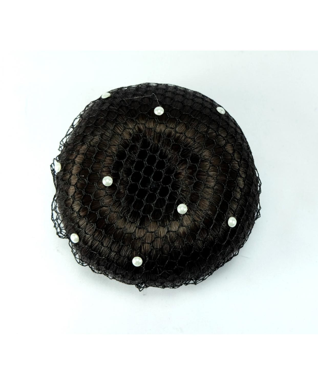 Showquest Hair Bun Net With Swarovski Pearls