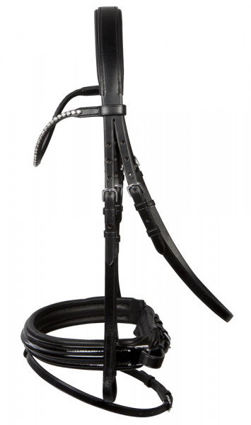 PFIFF Clifton Platin Snaffle Bridle