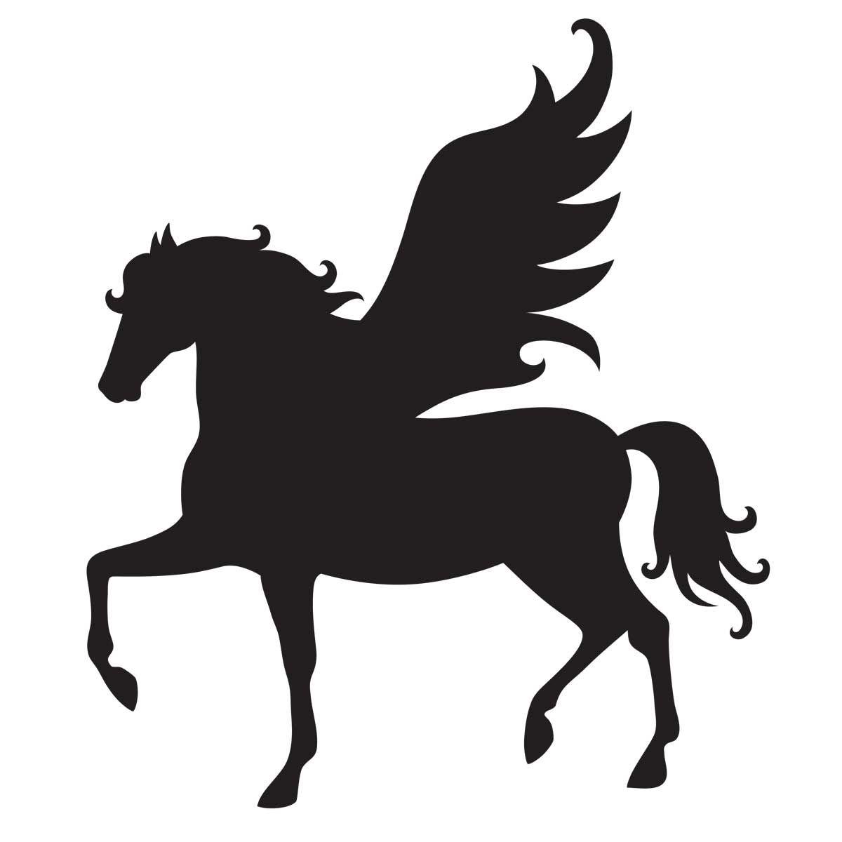 Glamourati Pegasus Stencil