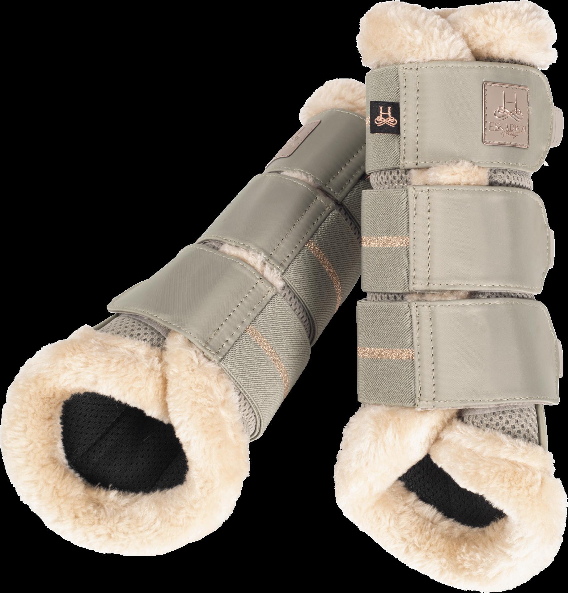 Eskadron Heritage Mesh Faux Fur Tendon Boots