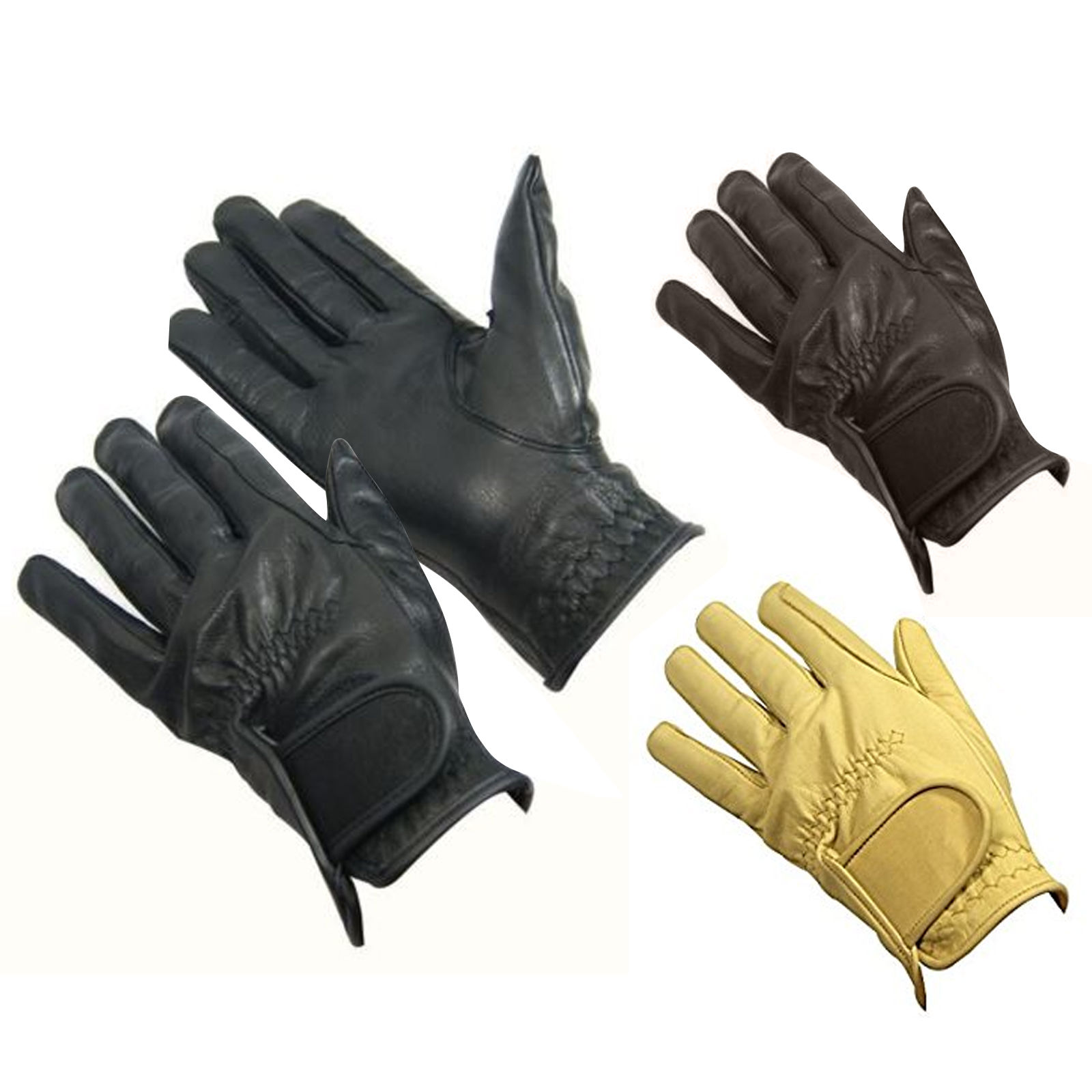 Bitz Childs Leather Gloves