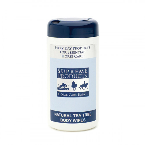 Supreme Products Natural Tea Tree Body Wipes