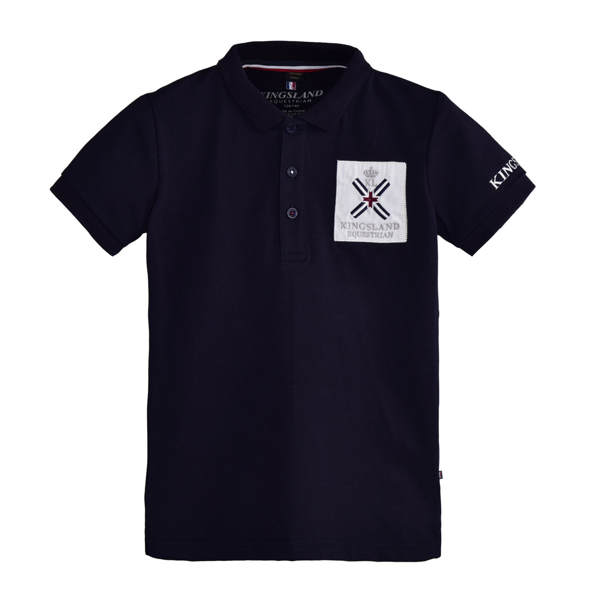 Kingsland Sapelo Childs Cotton Polo Shirt