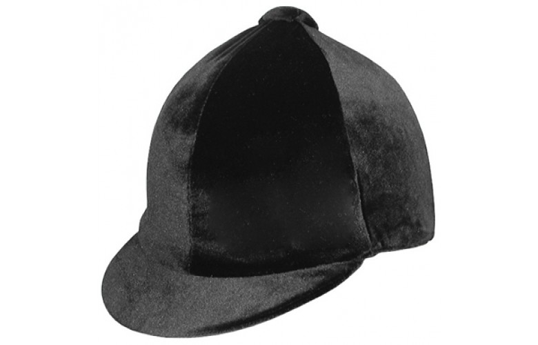 Capz Velvet Riding Hat Cover
