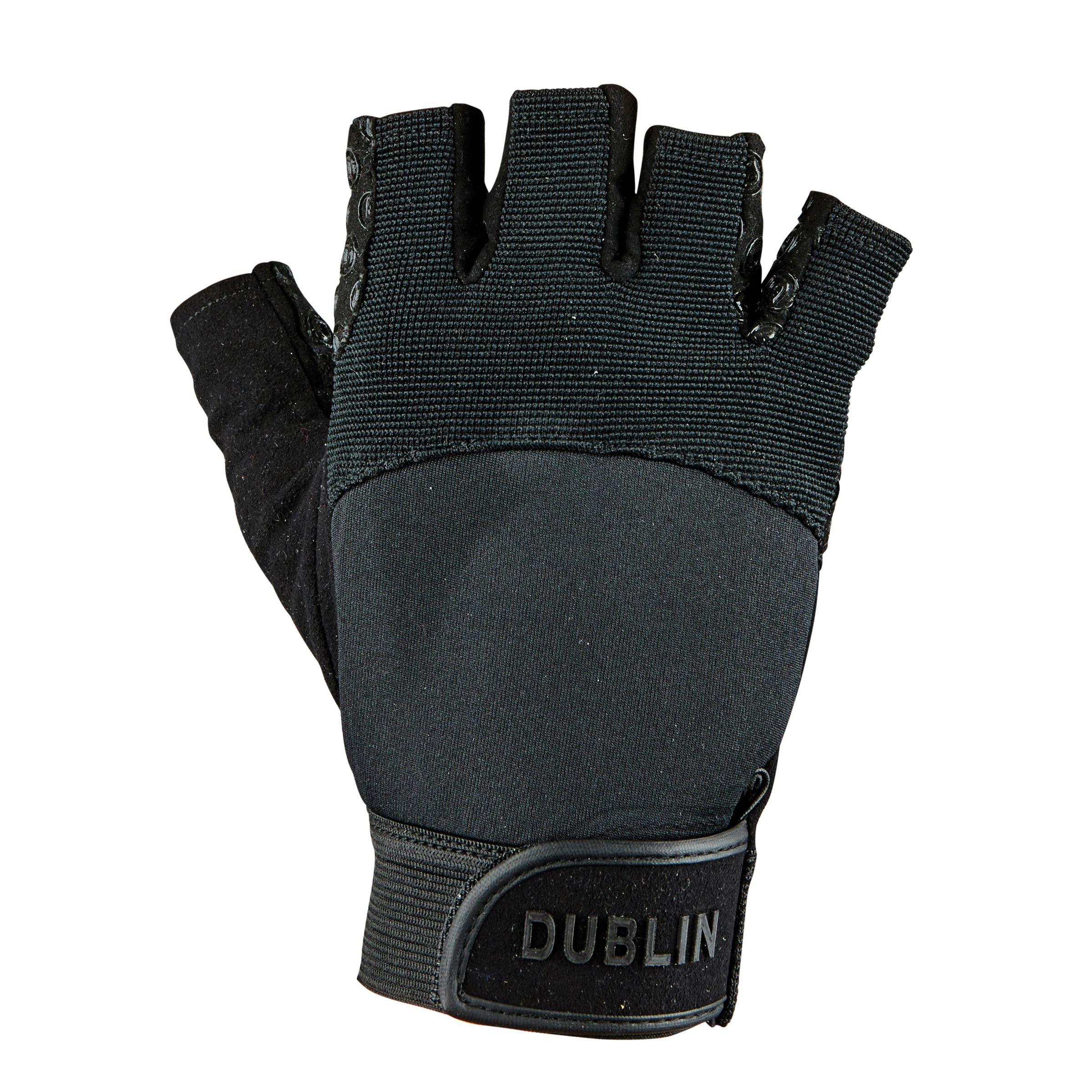 Dublin Fingerless Cross Country Riding Gloves