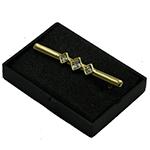 Karoo Equine Elegance Stock Pin Gold Plated Moonstone