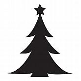 Glamourati Christmas tree Stencil