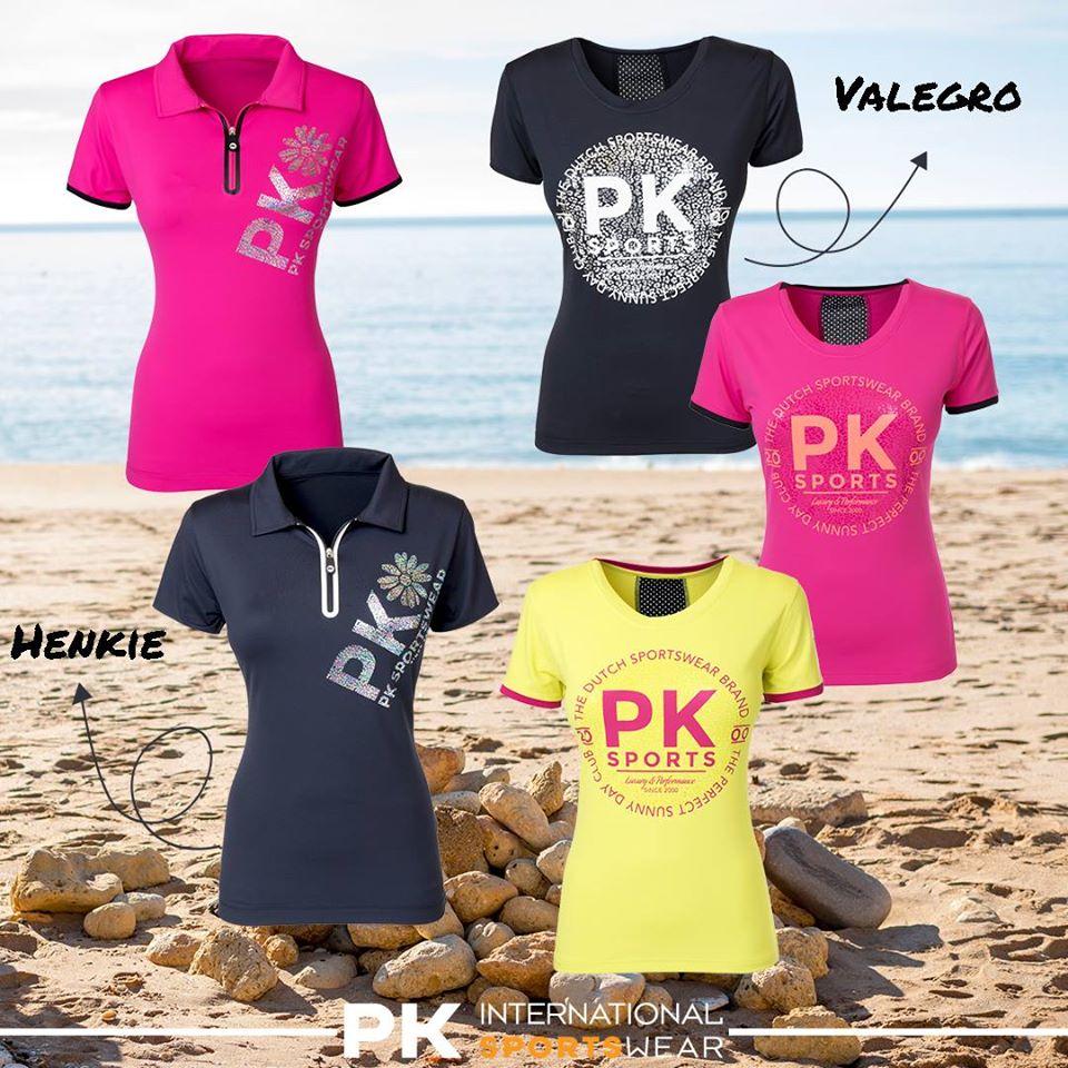 Pk International Technical Sports Top