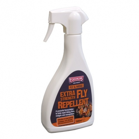 Equimins Fly & Midge Extra Strength Fly Repellent Fly Spray