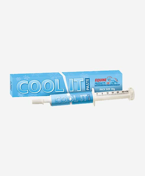 Equine Products LTD Cool IT Paste Syringe Calmers BOGOFF