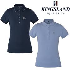 Kingsland Estepona Childs Cotton polo T Shirt Top