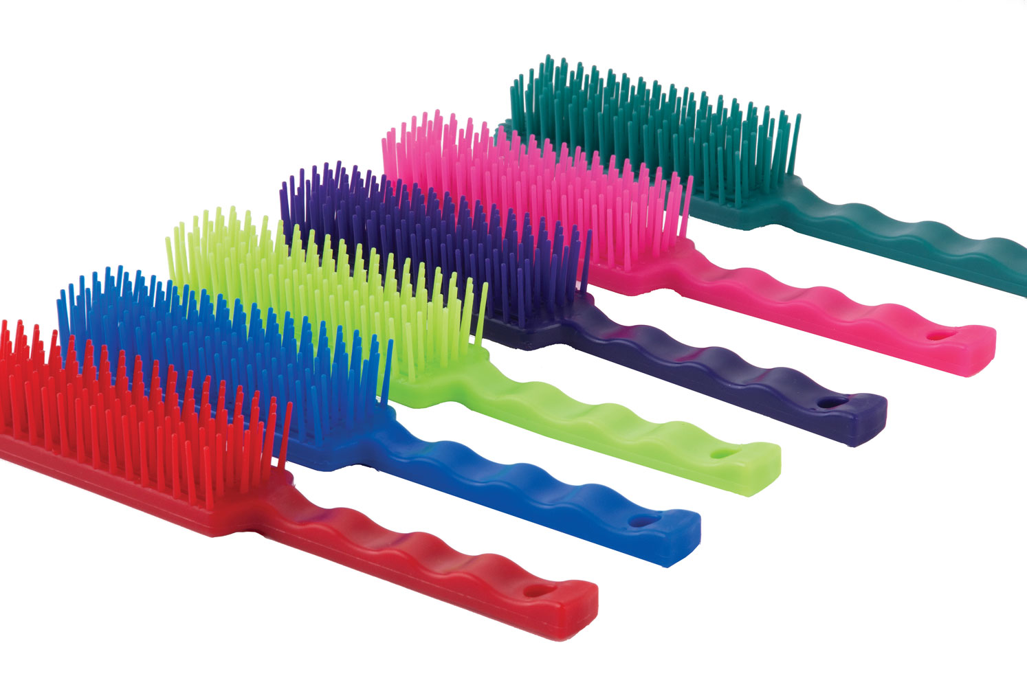 Harlequin Tangle Wrangler Grooming Comb