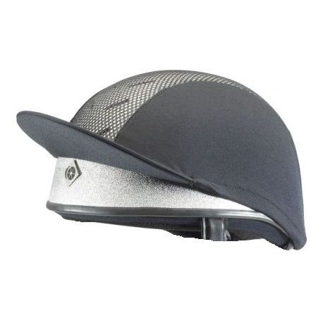 Charles Owen PRO 2 Jockey Skull Silver Riding Hat