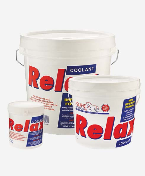 Equine Products LTD Relax Cool & Soothing Leg & Hoof Clay Care Performance