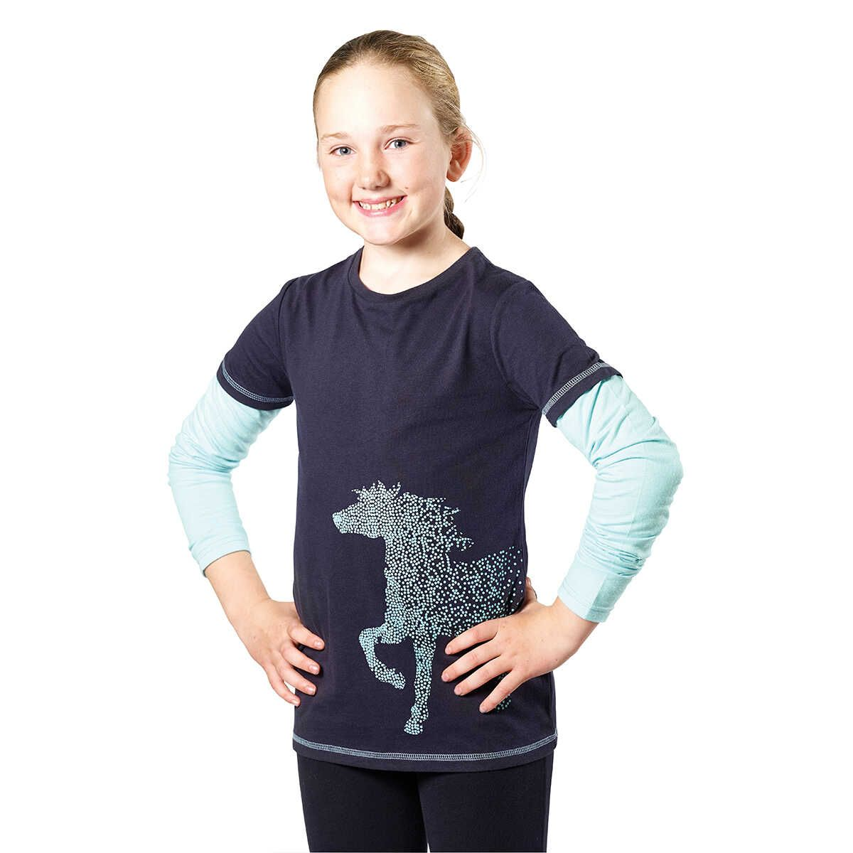 Harry Hall Childs Shirt Long Sleeve Top
