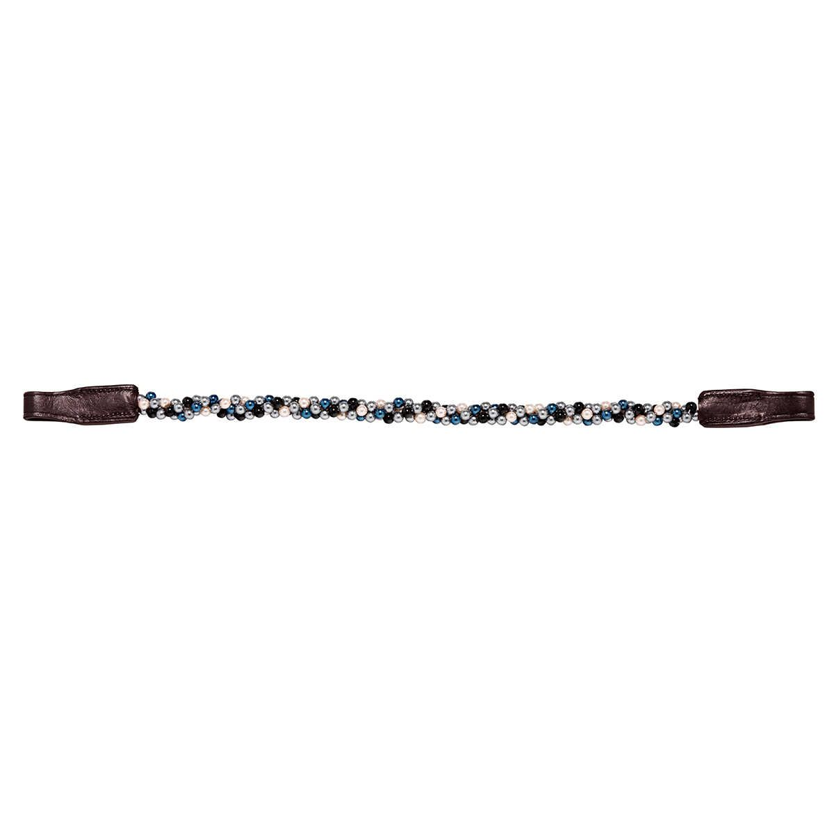 Caldene Twisted Pearl Browband Brown