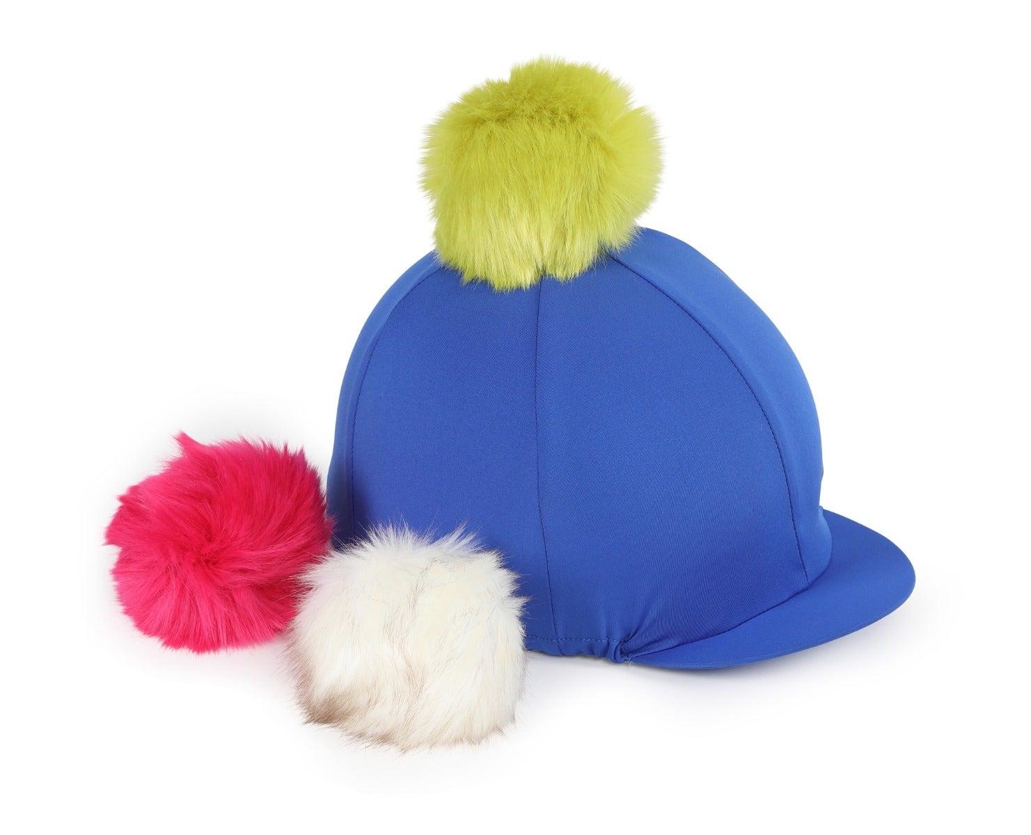Shires Fun Switch It Blue Hat Silk