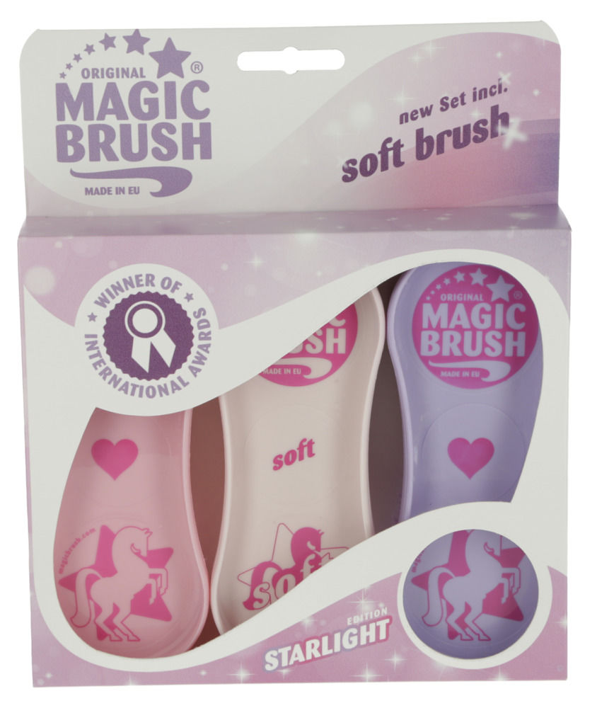 Magic Brush Starlight Edition Grooming Brush Set