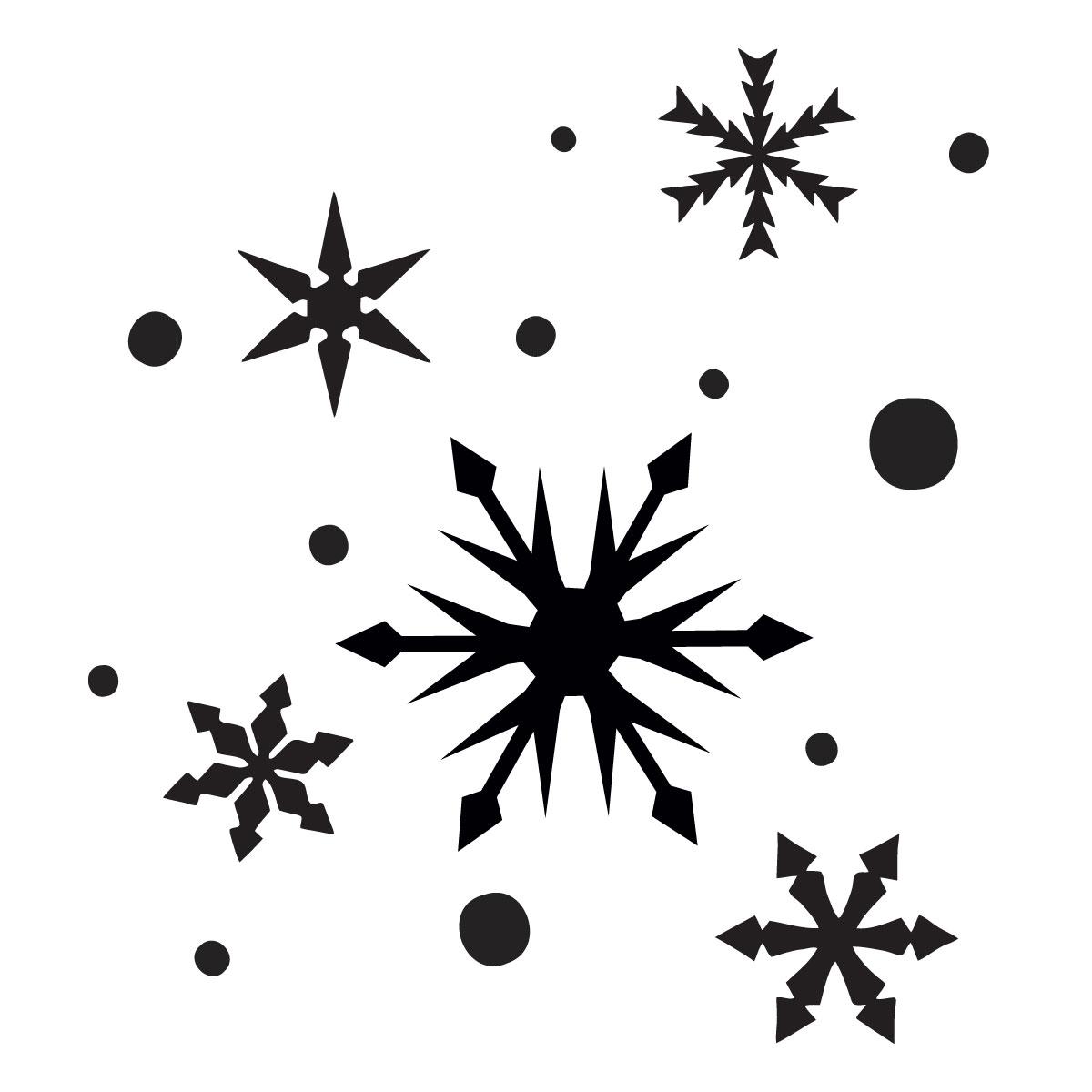 Glamourati Snowflake Stencil