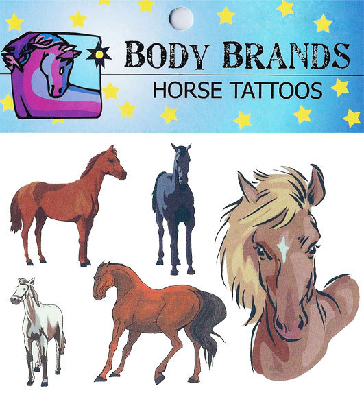 Jenkinsons Body Brands Horse Tattoos