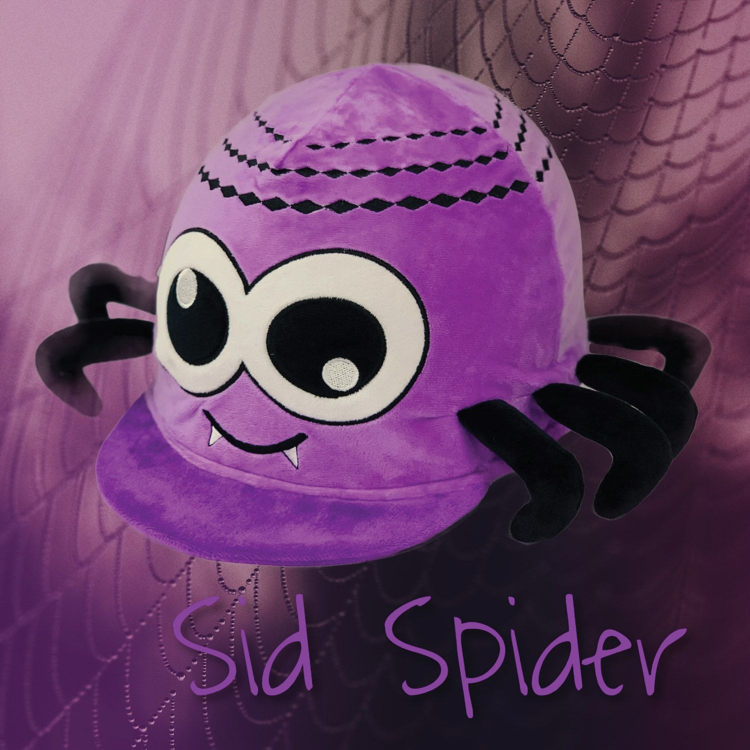 Equetech Sid the Spider Hat Silk