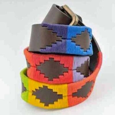 Sheldon Rainbow Polo Belt