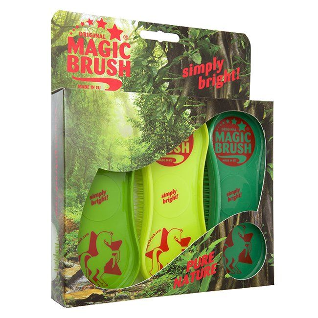 Magic Brush Pure Nature Grooming Brush Set