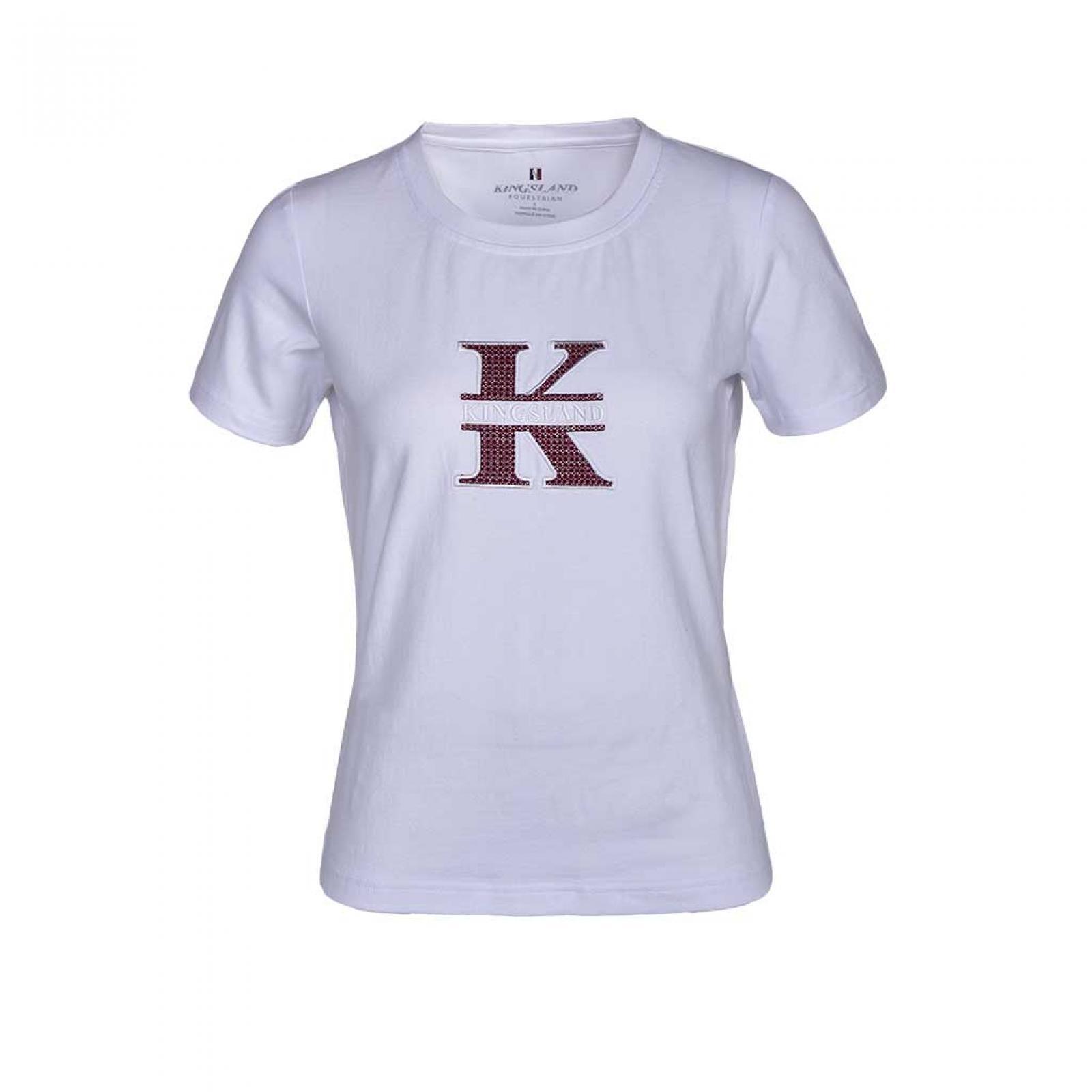 Kingsland Lalita White T-Shirt
