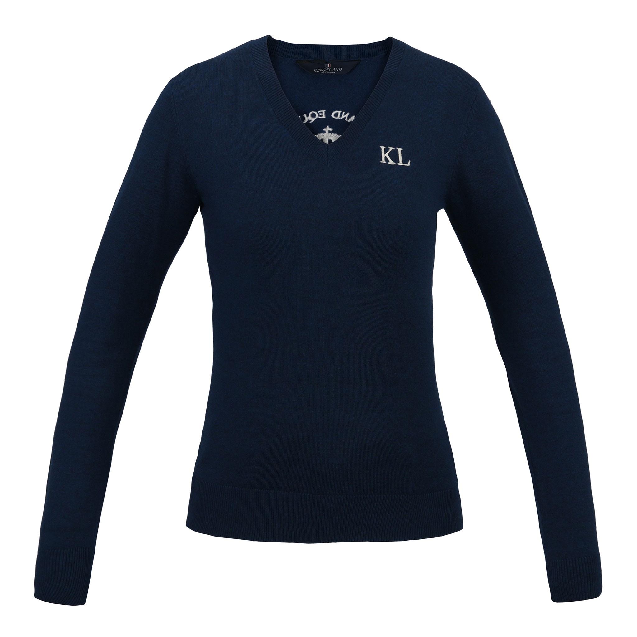 Kingsland Leipzig Ladies Knitted V-Neck Jumper