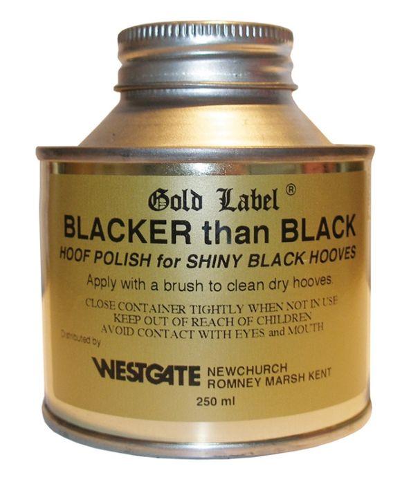 Gold Label Blacker Than Black