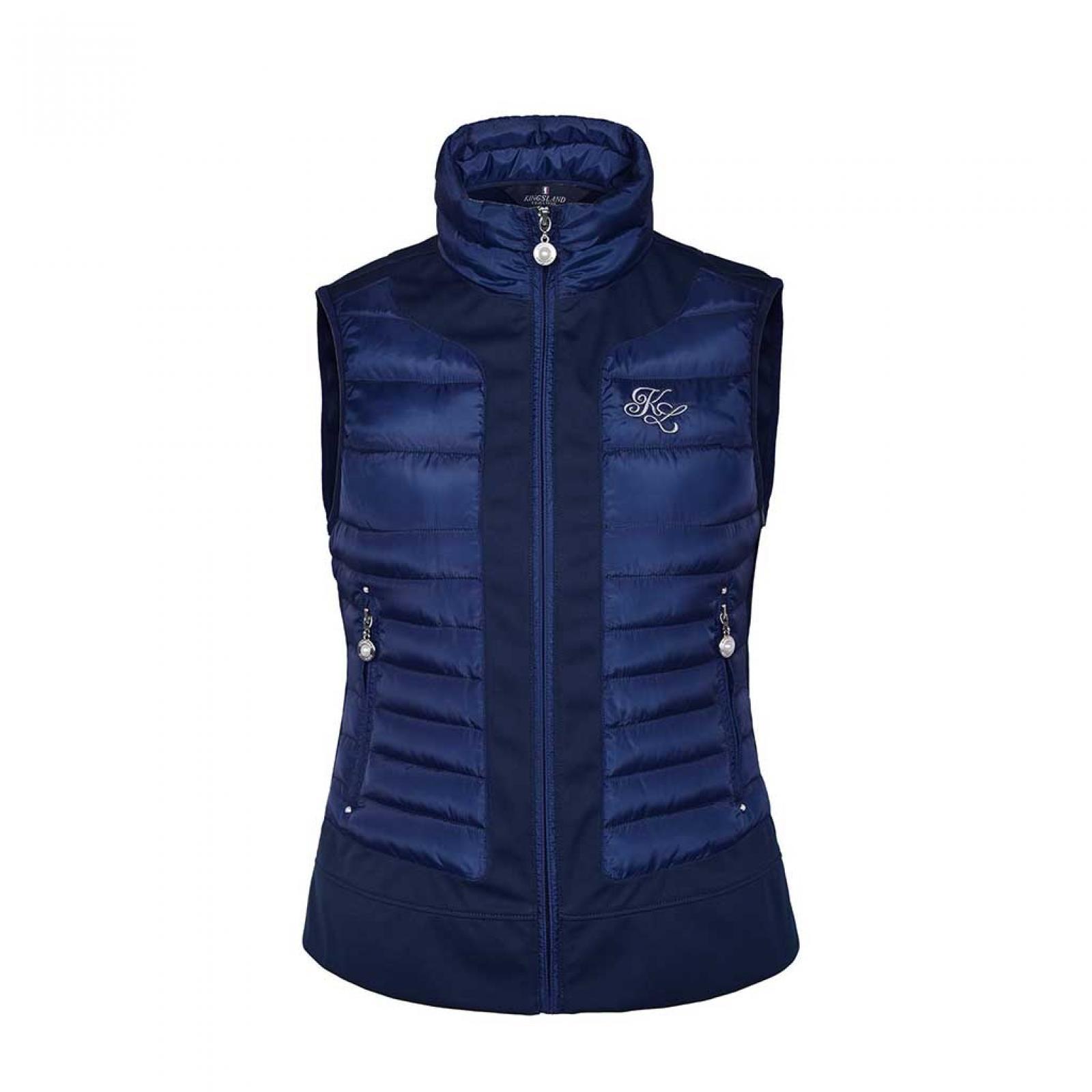 Kingsland Juliet Insulated Navy Body Warmer Waistcoat