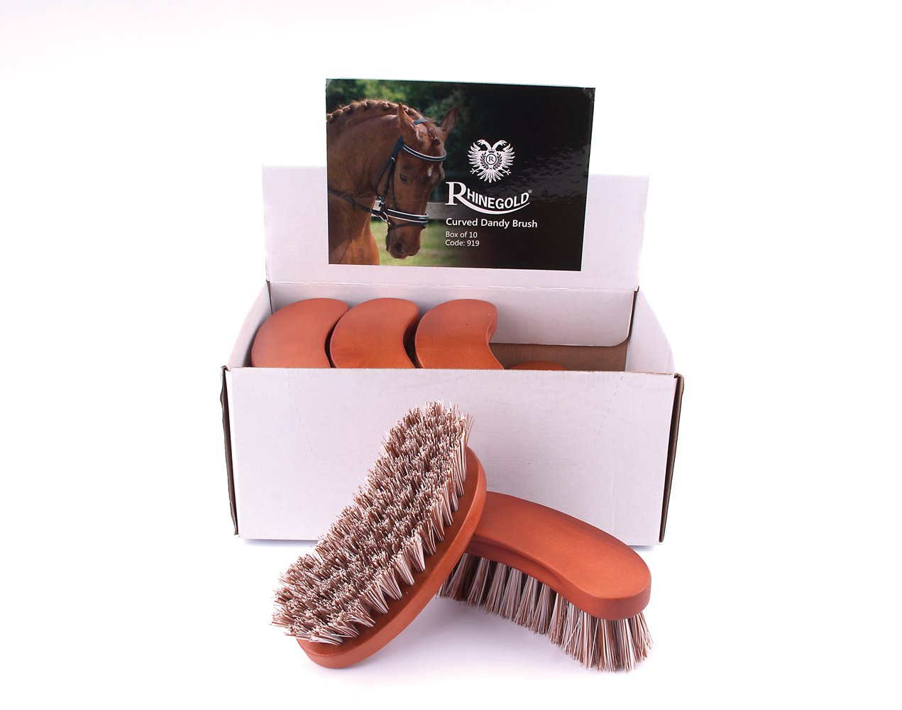 Rhinegold Curved Dandy Grooming Brush