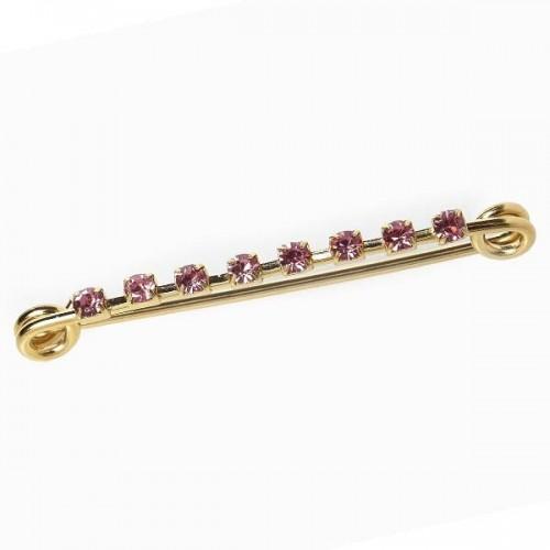 Elico Pink Diamond Stock Pin