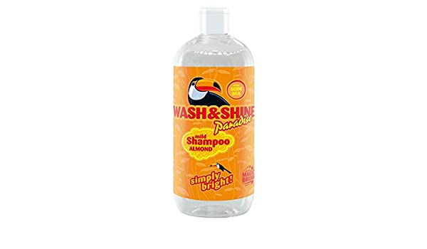 Magic Brush Wash & Shine Paradise Almond Vegan Silk Shampoo