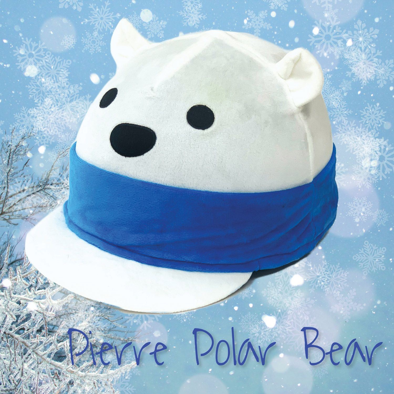 Equetech Pierre Polar Bear Hat Silk