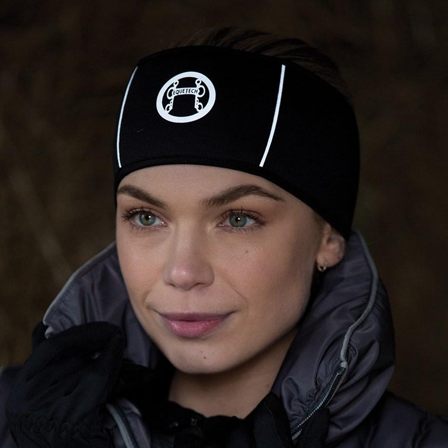 Equetech Reflective Earwarmer Headband