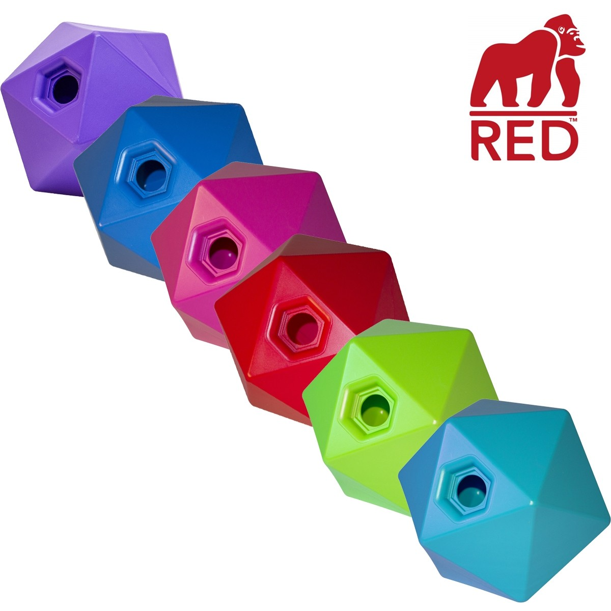 Red Gorilla Tub Trug Drip Feed Toy