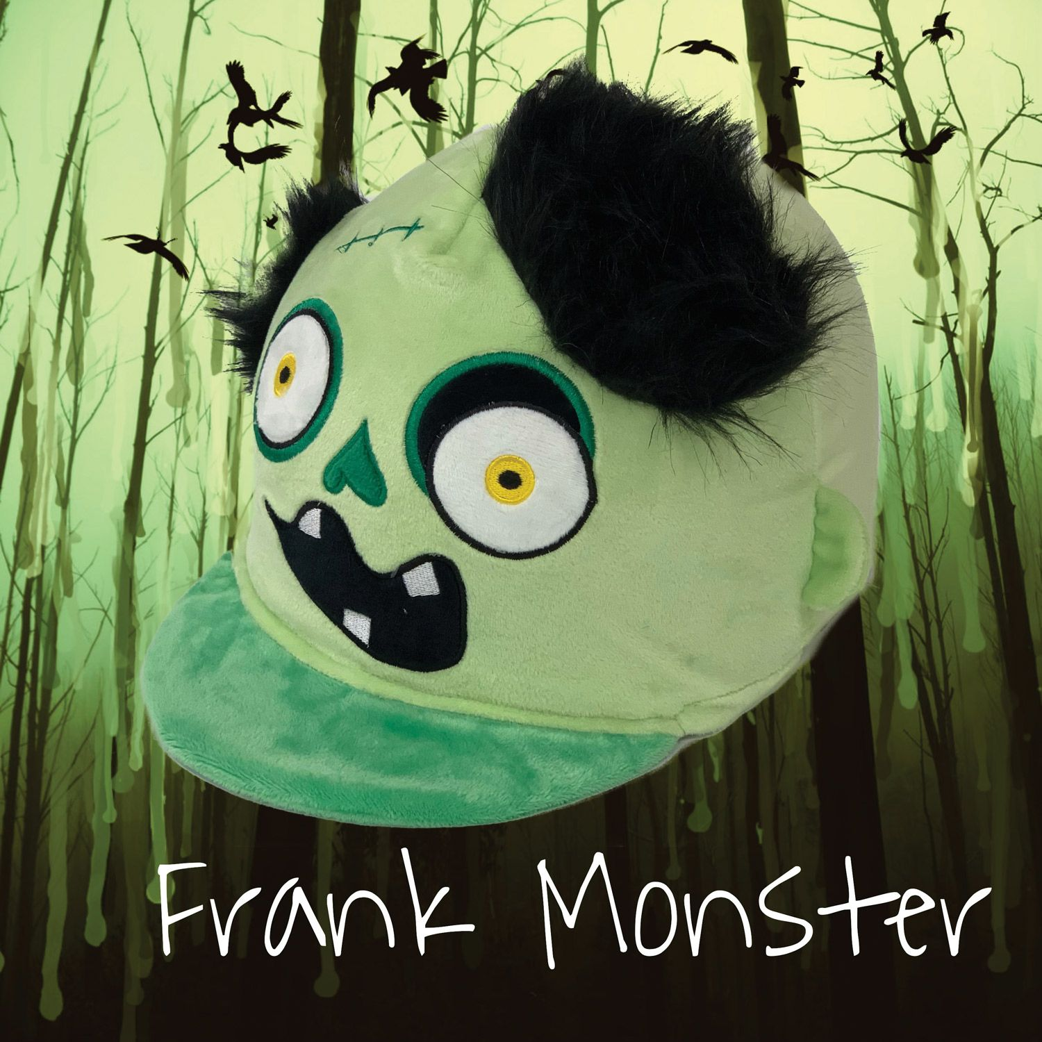 Equetech Frank the Monster Hat Silk