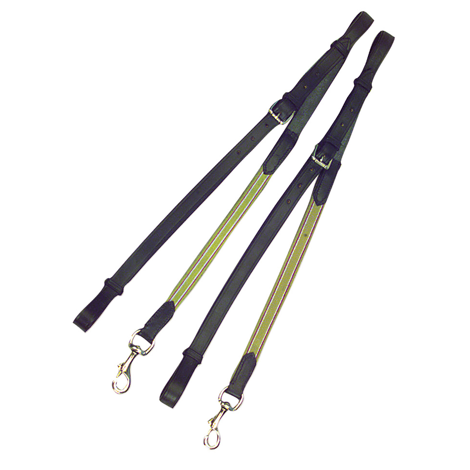 Kincade Leather Elastic Side Reins