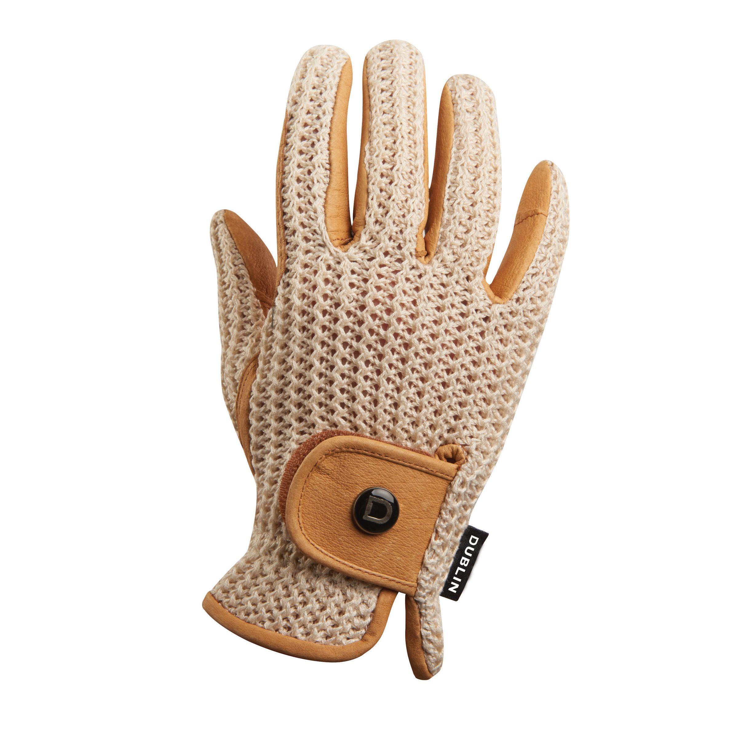 Dublin Crochet Riding Gloves