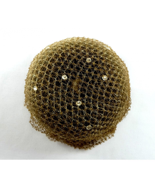 Showquest Hair Bun Net With Swarovski Crystals