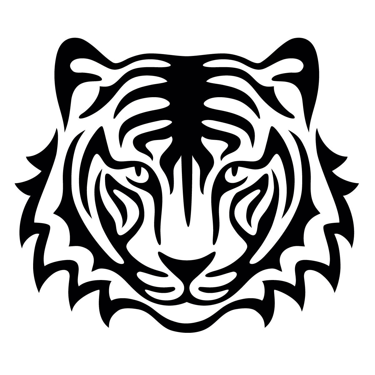 Glamourati Tiger Stencil