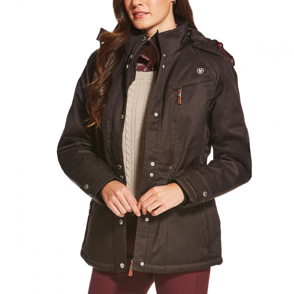 Ariat Momento Waterproof Jacket Brown