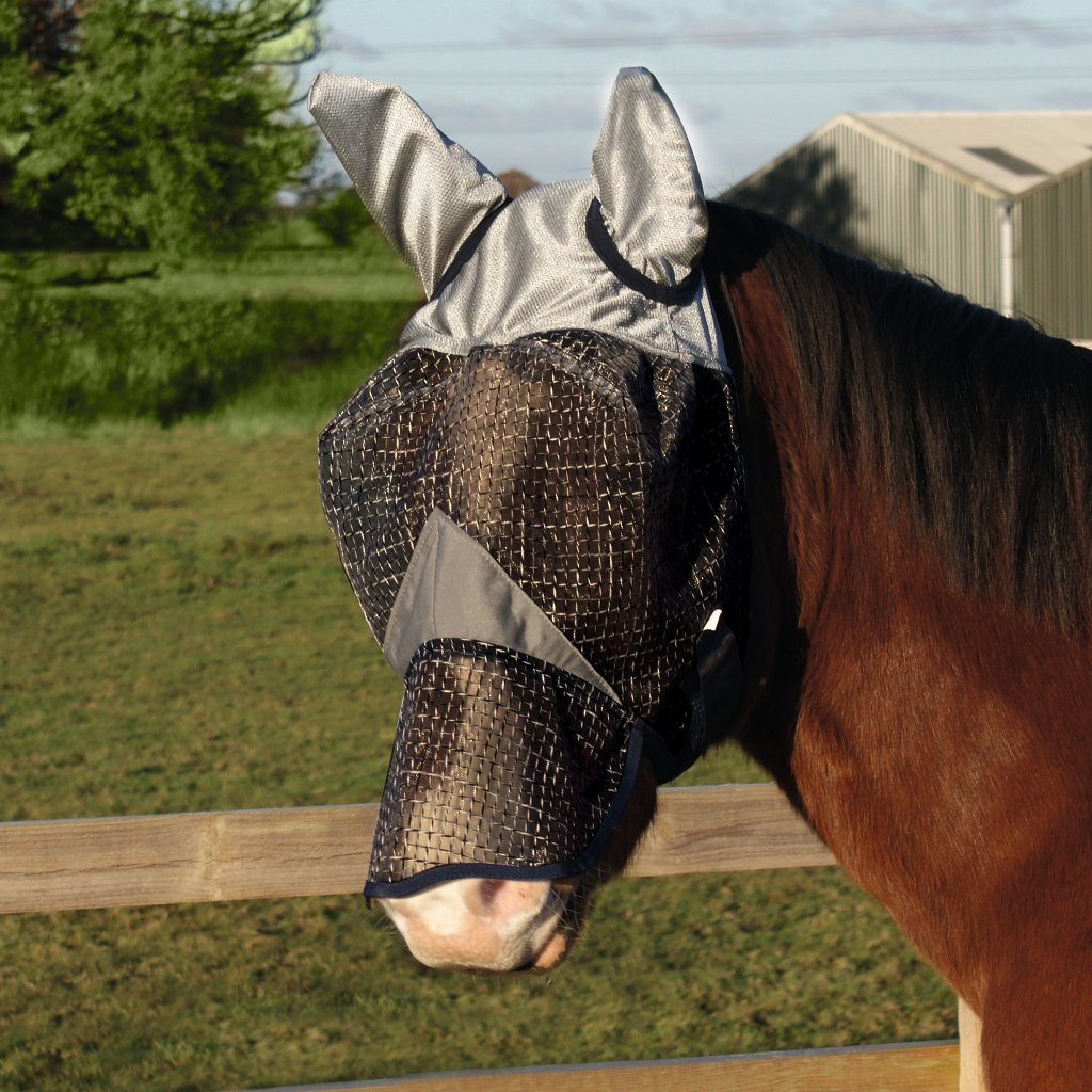 Legacy Equestrian Rip Stop Fly Mask