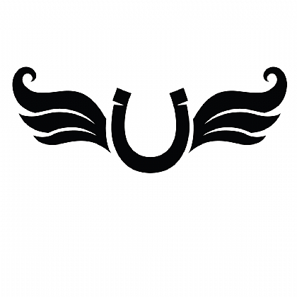 Glamourati Horseshoe Wing Stencil