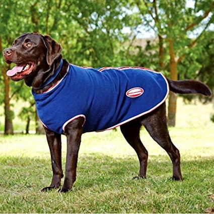 Weatherbeeta Fleece With Zip Dog Coat