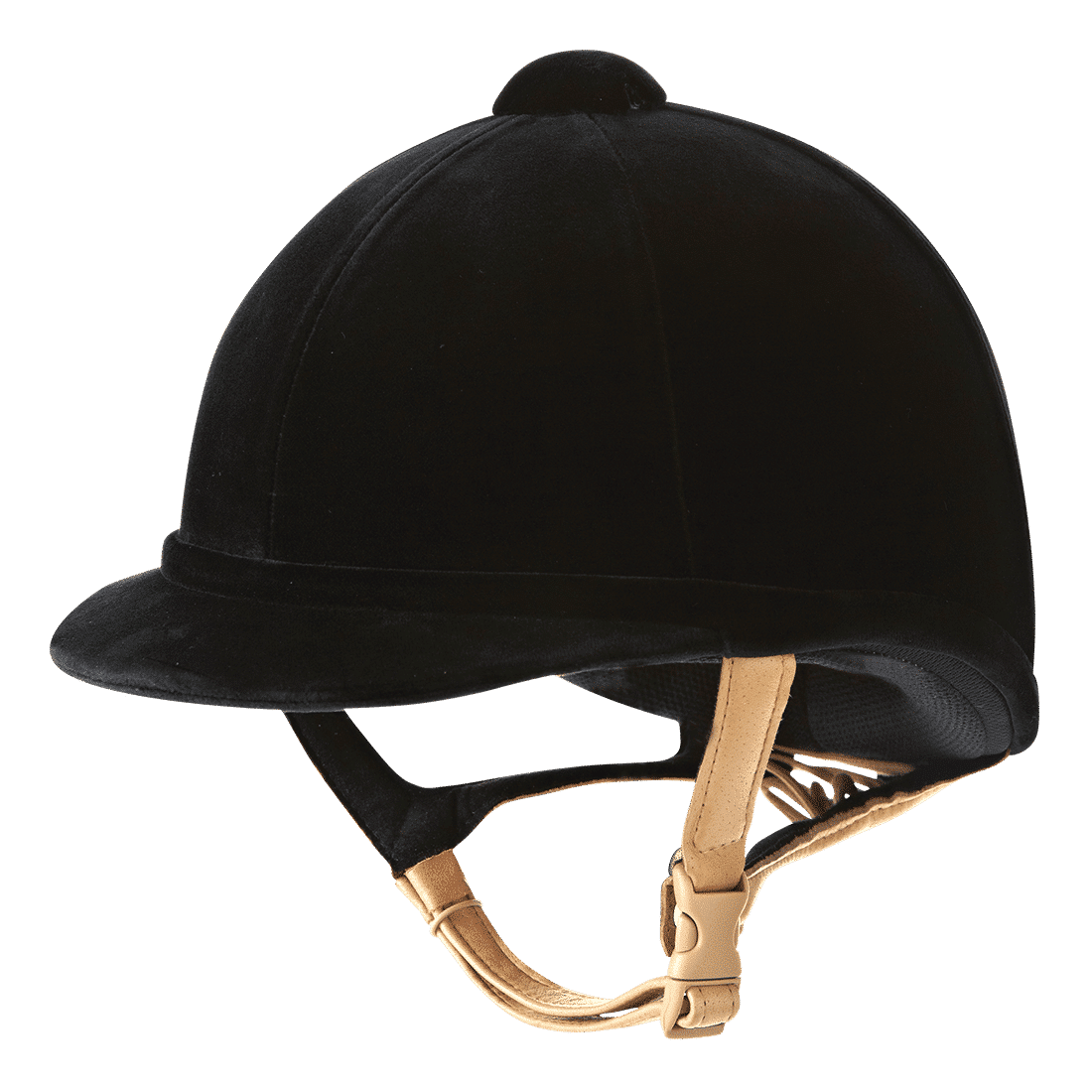 Charles Owen Hampton Velvet Riding Hat