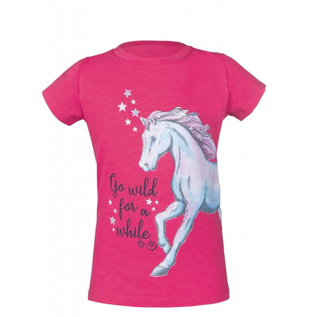 Funny Horses Childs T-Shirt Top