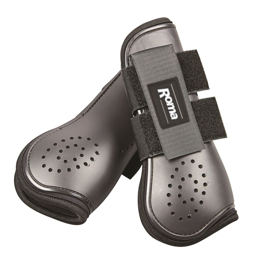 Roma Open Front Vent Jump Boots